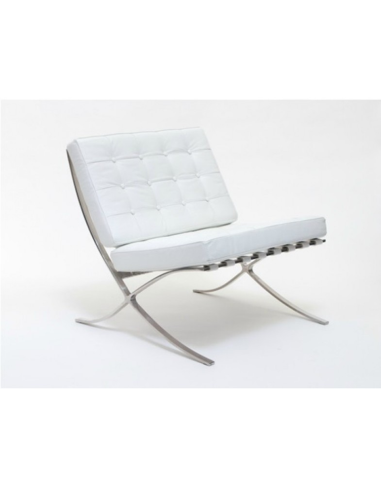 Barcelona Chair White chair (white)